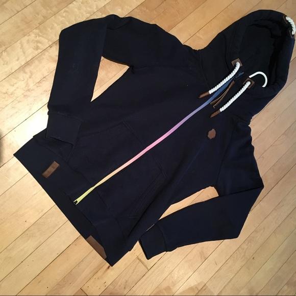 NWOT authentic Nakeyano hooded sweatshirt